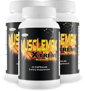 3 Bottles of MuscleMax Xtreme Muscle Building Supplement